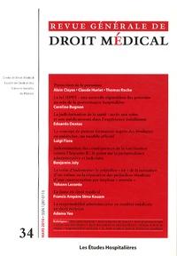 Les Etudes Hospitalières - Revue Générale de Droit Médical N° 34, Mars 2010 : .