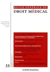 Béatrice Espesson-Vergeat - Revue Générale de Droit Médical N° 35, Juin 2010 : Distribution libre des médicaments.