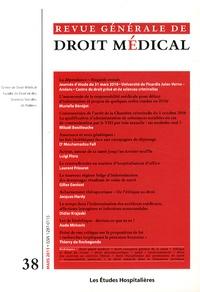 Jacqueline Flauss-Diem et Lydia Morlet-Haïdara - Revue Générale de Droit Médical N° 38, Mars 2011 : La dépendance - Regards croisés.
