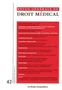 Emmanuelle Rial-Sebbag - Revue Générale de Droit Médical N° 42, Mars 2012 : Accès aux tests génétiques en Europe : droits et protection des utilisateurs.