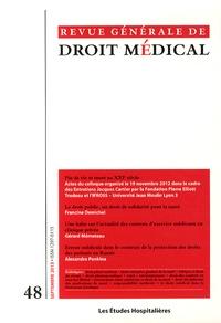 Guillaume Rousset - Revue Générale de Droit Médical N° 48, Septembre 201 : Fin de vie et mort au XXIe siècle.