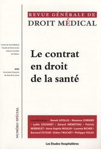 Maxence Cormier - Revue Générale de Droit Médical N° spécial : Le contrat en droit de la santé.