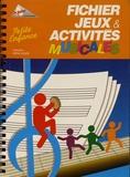 Les Francas - Fichier jeux & activités musicales - Petite enfance.