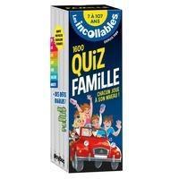 Les Incollables - Les incollables 1600 quiz famille - 5 thématiques du CP au collège.