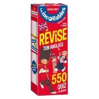Les Incollables - Les incollables, révise ton anglais - 550 quiz + 64 mémos.