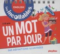 Les Inconnus - Un mot par jour, 365 définitions illustrées - Anglais. 1 CD audio
