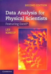 Data Analysis for Physical Scientists- Featuring Excel - Les Kirkup |