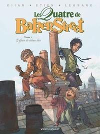 Jean-Blaise Djian - Les Quatre de Baker Street - Tome 01 - L'Affaire du rideau bleu.