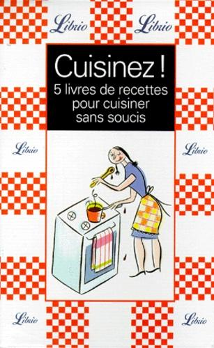 Cuisinez Coffret 5 Livres De Recettes Pour Cuisiner Sans Soucis La Cuisine Des Maris La Cuisine Des Gens Presses La Cuisine Des Gourmandes La