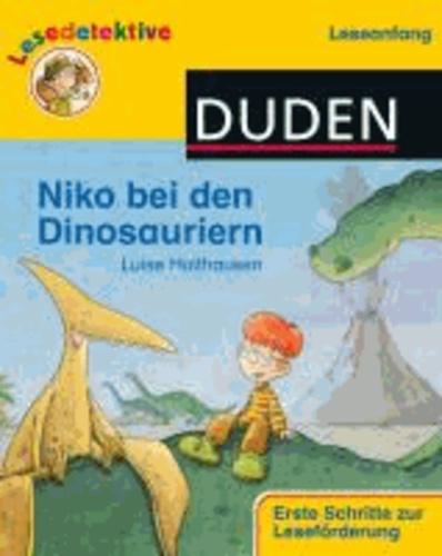"Lesedetektive ""Leseanfang"", Niko bei den Dinosauriern."