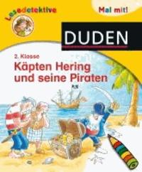 Lesedetektive Mal mit! - Käpten Hering und seine Piraten, 2. Klasse.
