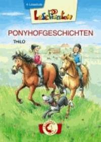 Lesepiraten Ponyhofgeschichten - Großbuchstaben.