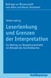 Leserlenkung und Grenzen der Interpretation - Ein Beitrag zur Rezeptionsästhetik am Beispiel des Ezechielbuches.