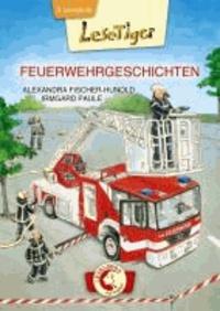 Lesetiger Feuerwehrgeschichten - Großbuchstaben.