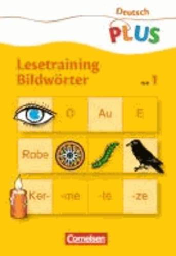 Lesetraining Bildwörter Heft 1 - Schwierigkeitsstufe 1.