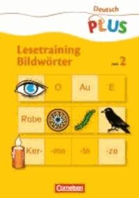 Lesetraining Bildwörter Heft 2 - Schwierigkeitsstufe 2.