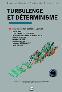 LESIEUR M - Turbulence et déterminisme.