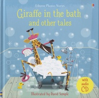 Lesley Sims et Russell Punter - Giraffe in the bath and other tales. 1 CD audio