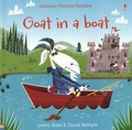 Lesley Sims - Goat in a Boat.