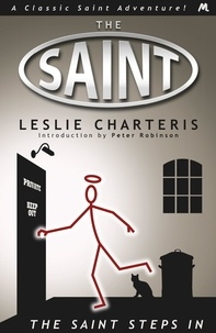 Leslie Charteris - The Saint Steps In.