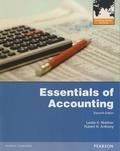 Leslie k. Breitner et Robert N. Anthony - Essentials of Accounting.