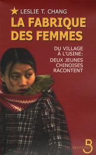 Histoiresdenlire.be La fabrique des femmes - Du village à l'usine : deux jeunes Chinoises racontent Image