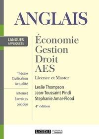 Leslie Thompson et Jean-Toussaint Pindi - Anglais appliqué 1 - Economie, gestion, droit, AES Licence et Master.