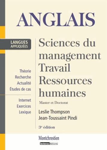 Leslie Thompson et Jean-Toussaint Pindi - Anglais appliqué - Sciences du Management, Travail, Ressources humaines. Master et Doctorat.