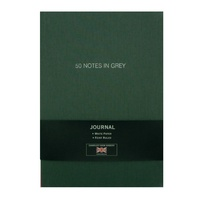 "LETTERBOX - CARNET LIN A5 ""50 NOTES IN GREY"""
