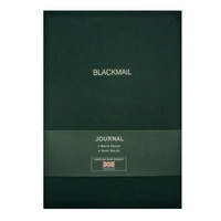 "LETTERBOX - CARNET LIN A5  ""BLACKMAIL"""