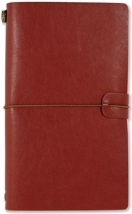 LETTERBOX - JOURNAL VOYAGER BURGUNDY