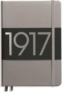 LEUCHTTURM - Carnet Leuchtturm1917 rigide 13 x 21 cm 249p pointillé Argent