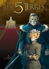 """Lewelyn et Jérôme Lereculey - Les 5 Terres : Cycle I - Angleon Tome 3 : """"L'amour d'un imbécile""""."""