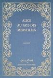 Lewis Carroll - Alice au Pays des Merveilles - Coffret 2 livres : le manuscrit de Lewis Carroll et la traduction française, Tirage de tête, Exemplaire numéroté.