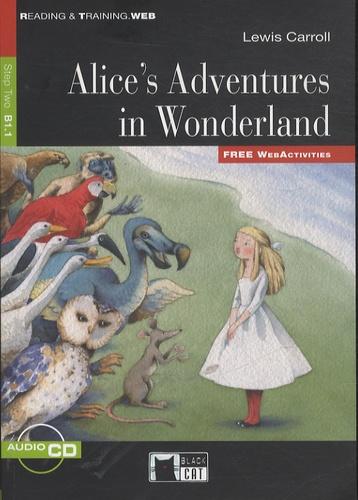 Alice's Adventures in Wonderland  avec 1 CD audio