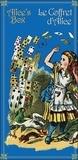 Lewis Carroll - Le coffret d'Alice - 2 volumes + un jeu de cartes.