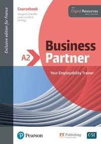 Lewis Lansford et Margaret O'Keeffe - Business Partner A2 - Coursebook with digital resources.