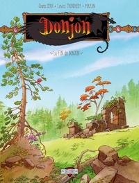 Lewis Trondheim et  Mazan - Donjon Crépuscule Tome 111 : La Fin du Donjon.
