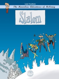 Lewis Trondheim - The Marvelous Adventures of McConey - Slalom.