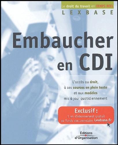 Lexbase - Embaucher en CDI.