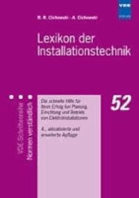 Lexikon der Installationstechnik - Die schnelle Hilfe für Ihren Erfolg bei Planung, Errichtung und Betrieb von Elektroinstallationen.