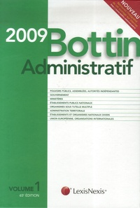 Lexis Nexis - Bottin administratif 2009. 1 Cédérom