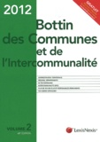 Lexis Nexis - Bottin des communes et de l'intercommunalité 2012 - Volume 2.