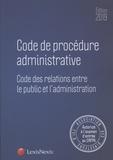 Lexis Nexis - Code de procédure administrative.