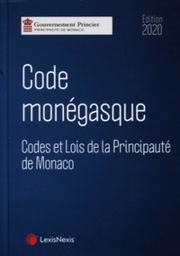 Lexis Nexis - Code monégasque - Codes et lois de la Principauté de Monaco.