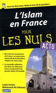 Leyla Arslan et Mohamed-Ali Adraoui - L'Islam en France pour les Nuls.