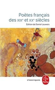 LGF - Poètes français des XIXe et XXe siècles.