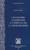 Lhaocine Aouragh - L'économie algérienne à l'épreuve de la démographie.