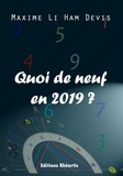 Li ham devis Maxime - Quoi de neuf en 2019.
