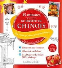 Liao Min - 15 minutes par jour pour se mettre au chinois - Une méthode efficace pour parler chinois ! Pour débutants et faux débutants. 1 CD audio MP3